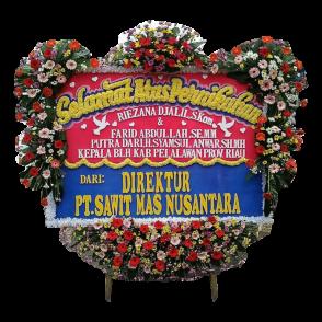 Bunga Papan Happy Wedding (HW008)