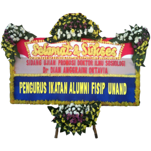 Bunga Papan Selamat Sukses (SK003)