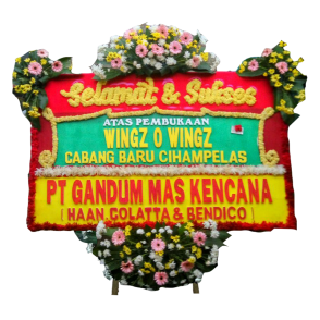 Bunga Papan Selamat Sukses (SK005)