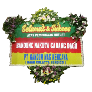 Bunga Papan Selamat Sukses (SK004)