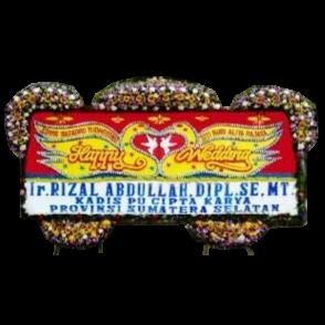 Bunga Papan Happy Wedding (HW011)