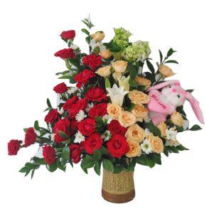 Bunga Meja/Bucket (BM 004)