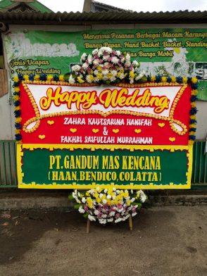 Papan Bunga Wedding HW 004