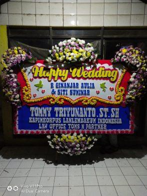 Papan Bunga Wedding HW 007