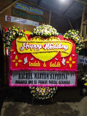 Papan Bunga Wedding HW 008