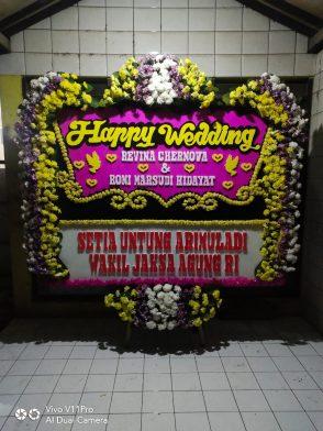 Papan Bunga Wedding HW 009